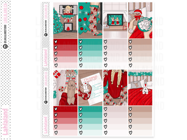 Classic Happy Planner - Christmas Eve Weekly Kit