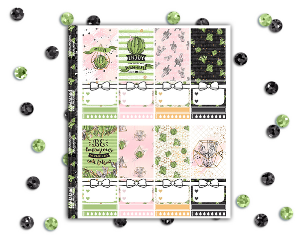Classic Happy Planner - Succulents Weekly Kit