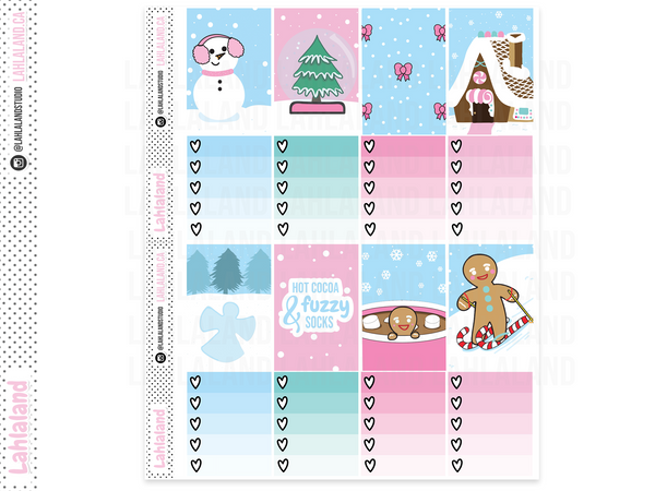 Classic Happy Planner - Winter Feels Weekly Kit