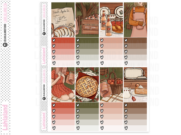 Classic Happy Planner - Apple Picking Weekly Kit