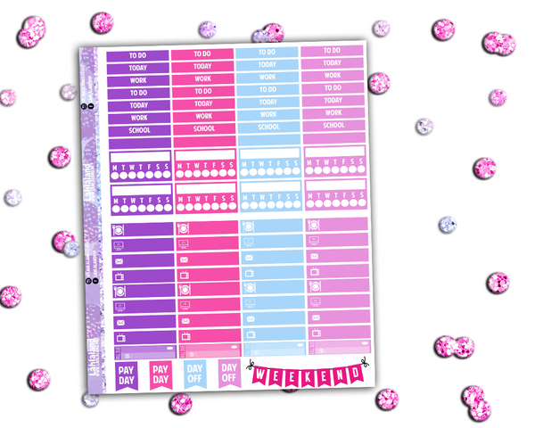 Classic Happy Planner - Bling In The New Year Weekly Kit