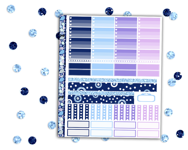 Classic Happy Planner - Glacier Queen Weekly Kit