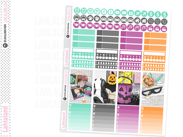 Classic Happy Planner - Tricks and Treats Weekly