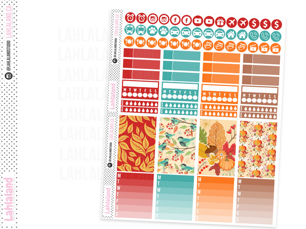 Classic Happy Planner - Fall Harvest Weekly Kit