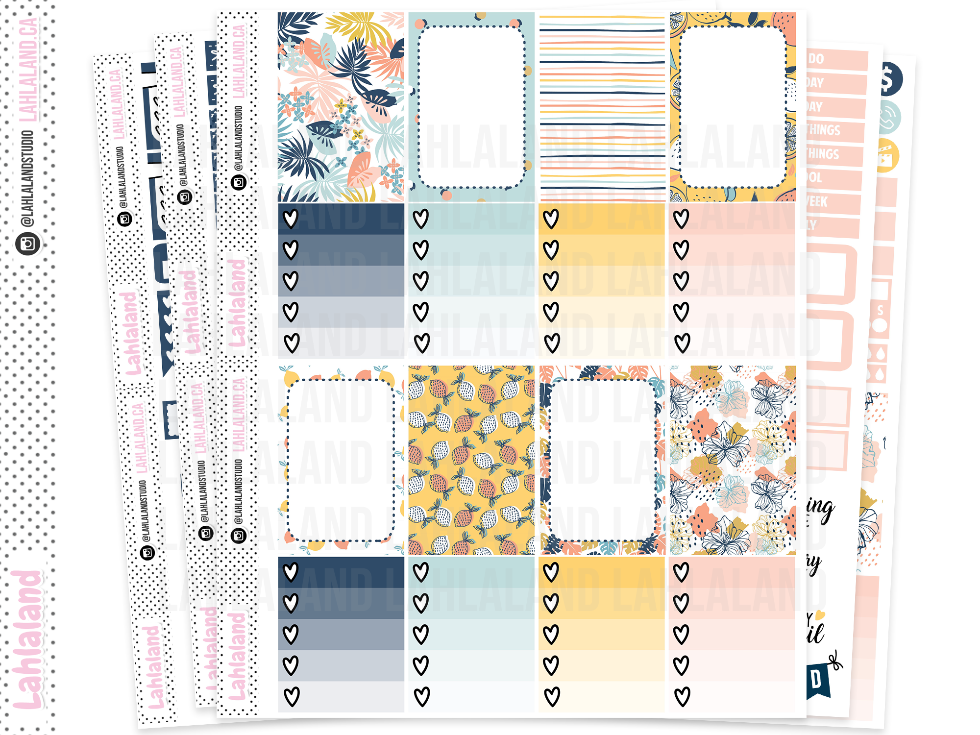 Classic Happy Planner - Fruity Summer Weekly Kit