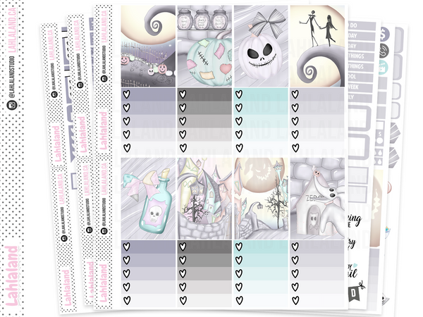 Classic Happy Planner - Nightmare Weekly Kit