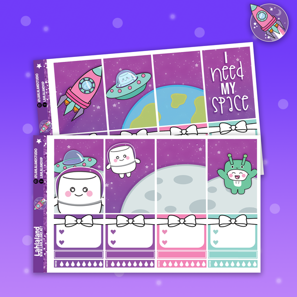 Classic Happy Planner Galaxy Weekly - Tripp