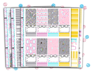 Classic Happy Planner - Too Glam Weekly Kit
