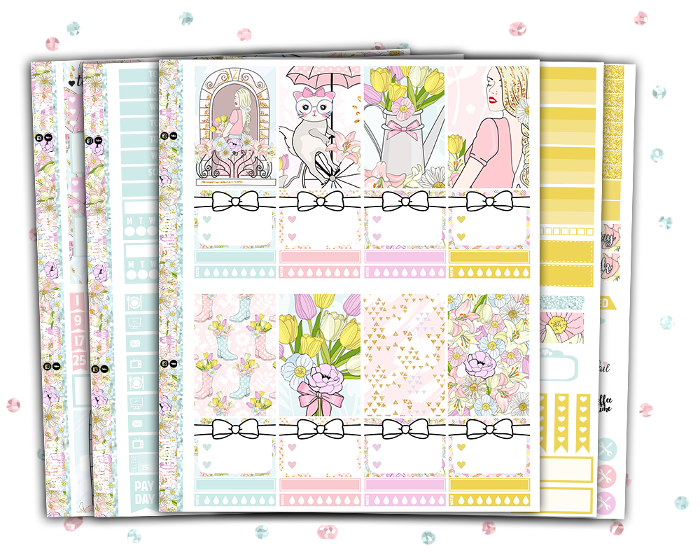 Spring Weekly Kit - Classic Happy Planner