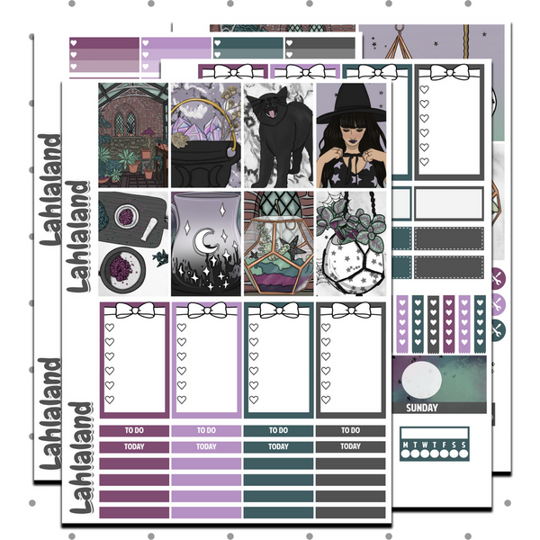 Classic Happy Planner - Coven Weekly Kit