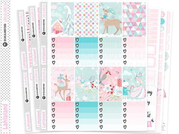 Classic Happy Planner - Whimsical Christmas Weekly Kit
