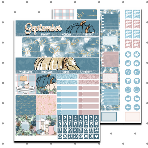 Classic Happy Planner - Farm Fresh Fall Monthly Kit