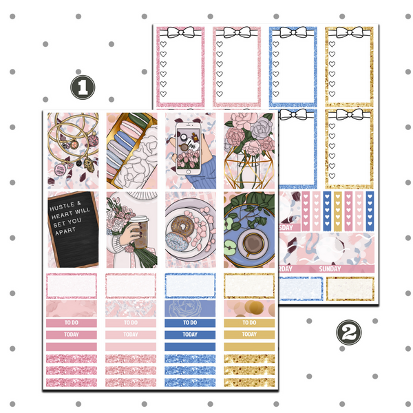 Classic Happy Planner - Instagram Blogger Weekly Kit
