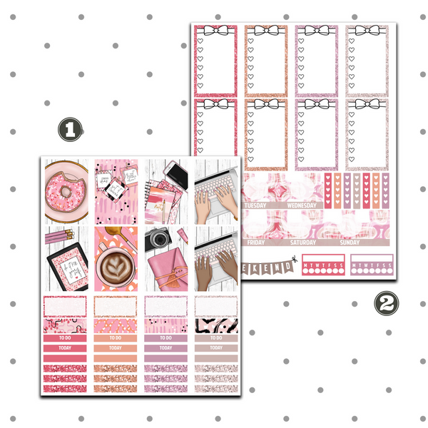 Classic Happy Planner - Planner Girl Weekly Kit