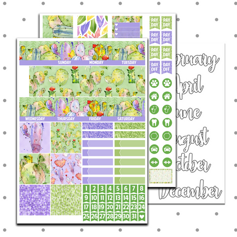 Classic Happy Planner - Prickle Party Monthly Kit