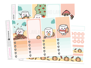 Classic Happy Planner - Tripp Fall Weekly Kit