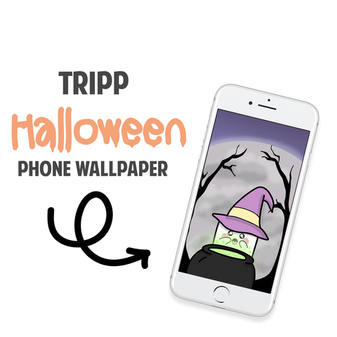 Tripp Halloween Phone Wallpaper