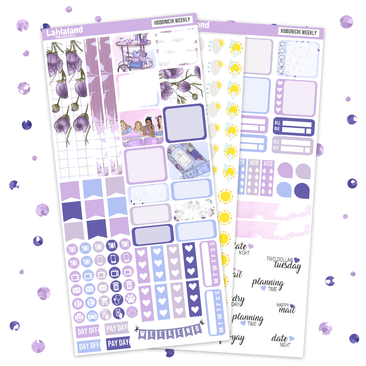 Hobonichi Weeks Slumber Party Weekly Kit