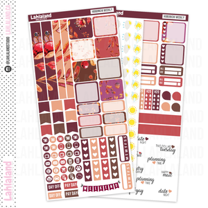 Hobonichi Weeks - Autumn Delights Weekly Kit