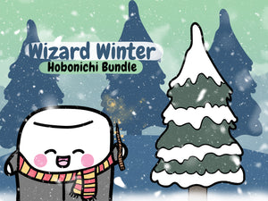 Tripp Wizard Winter Hobonichi Bundle
