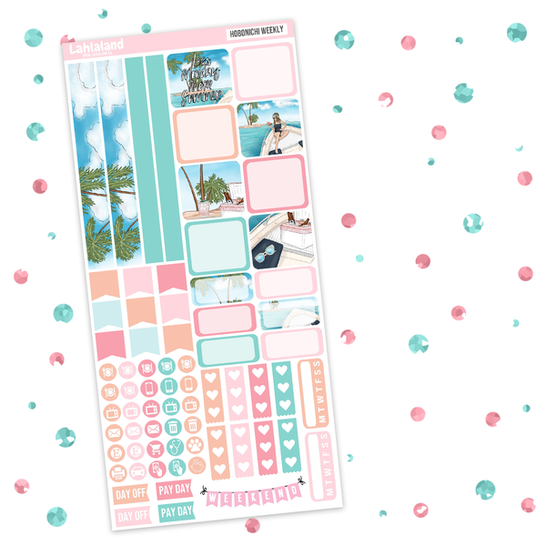 Hobonichi Weeks - More Summer Weekly Kit