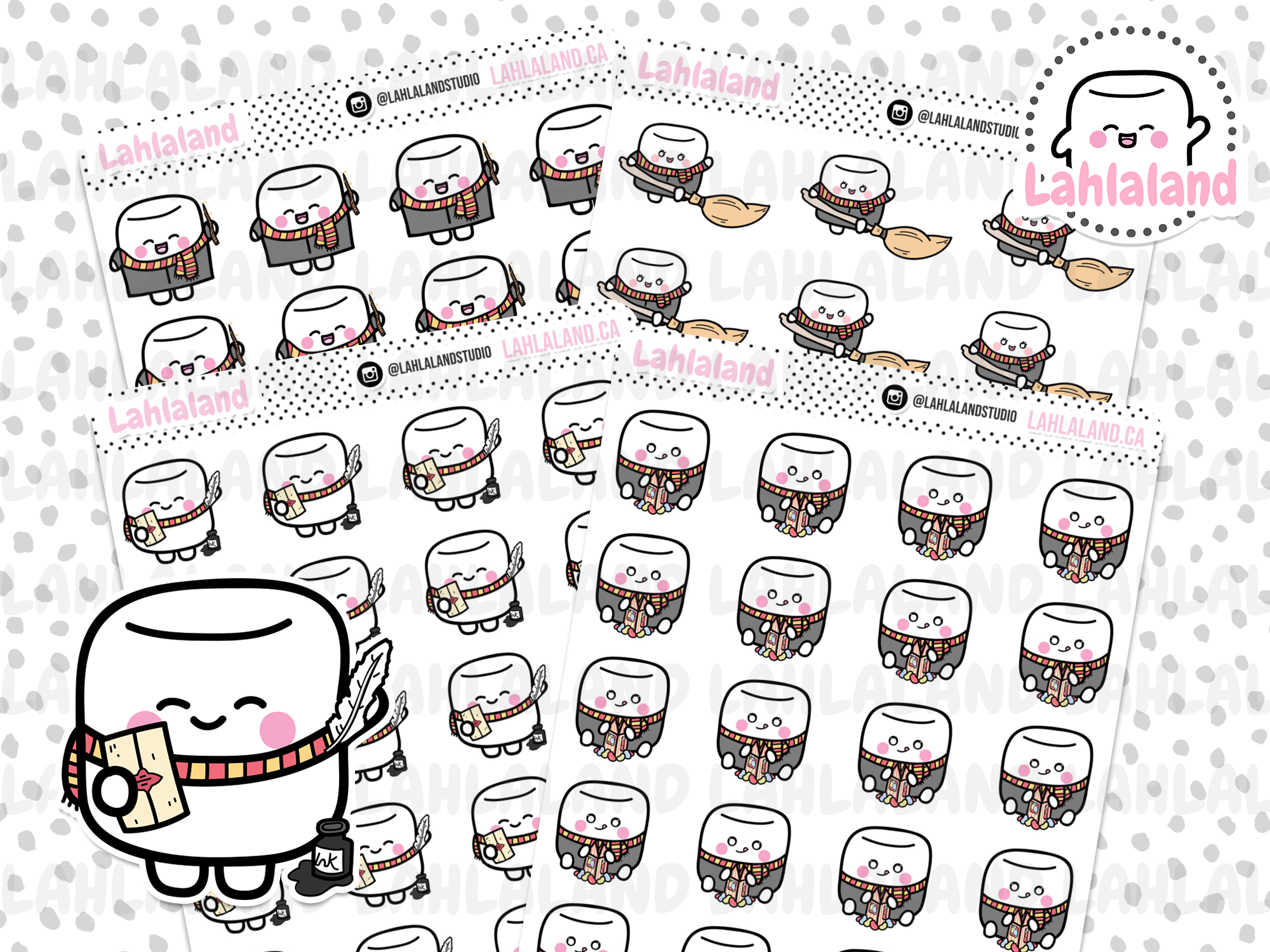 Tripp & Clover - House Stickers (Pick Your House!)