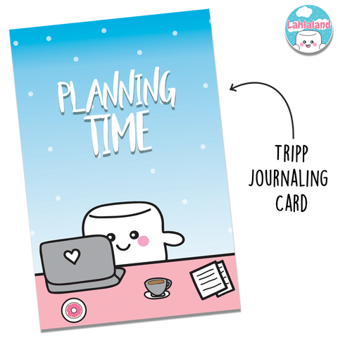 Planning Time Journaling Card - Tripp