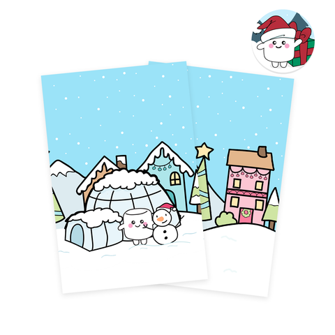 Snow Fun Journaling Cards