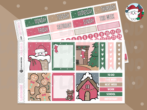 PP Weeks, Standard Vertical - Tripp Holiday Mini Weekly Kit