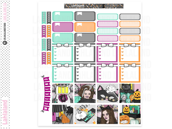 Mini Happy Planner - Tricks and Treats Weekly