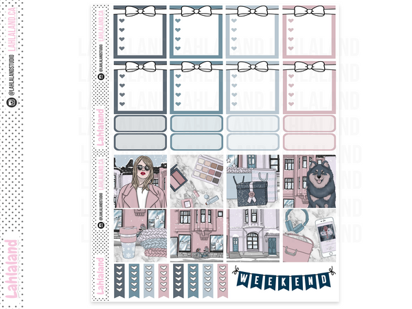 Mini Happy Planner - Uptown Winter Weekly Kit