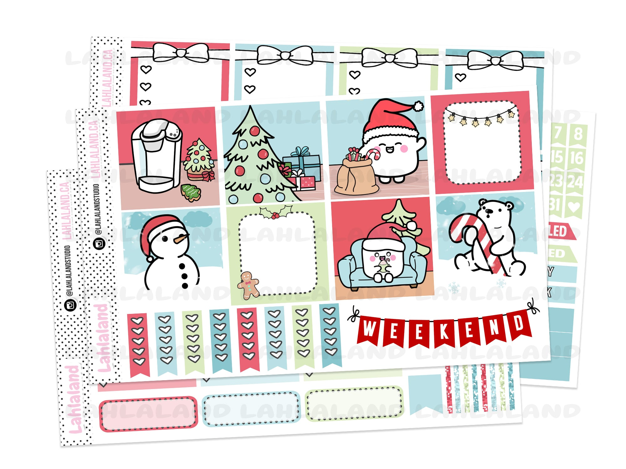 Mini Happy Planner - Christmas Cheer Weekly