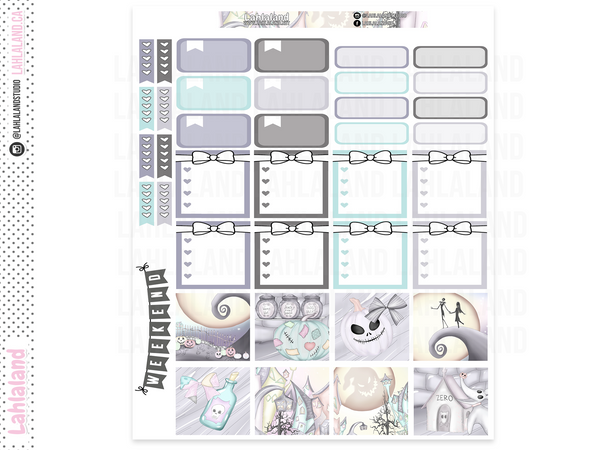 Mini Happy Planner - Nightmare Weekly Kit