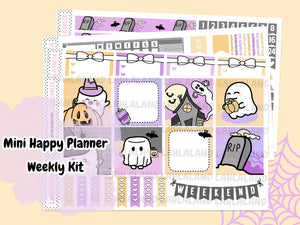 Mini Happy Planner - Tripp Halloween Weekly Kit