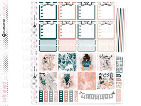 Mini Happy Planner - Bookworm Weekly Kit
