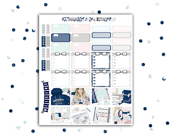 Mini Happy Planner - Sticker University Weekly Kit