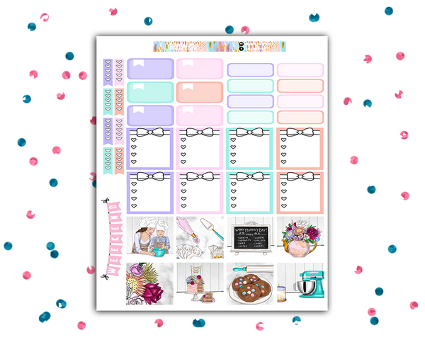Mini Happy Planner - Sweet One Weekly Kit