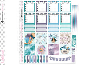 Mini Happy Planner - Mermaid Weekly Kit