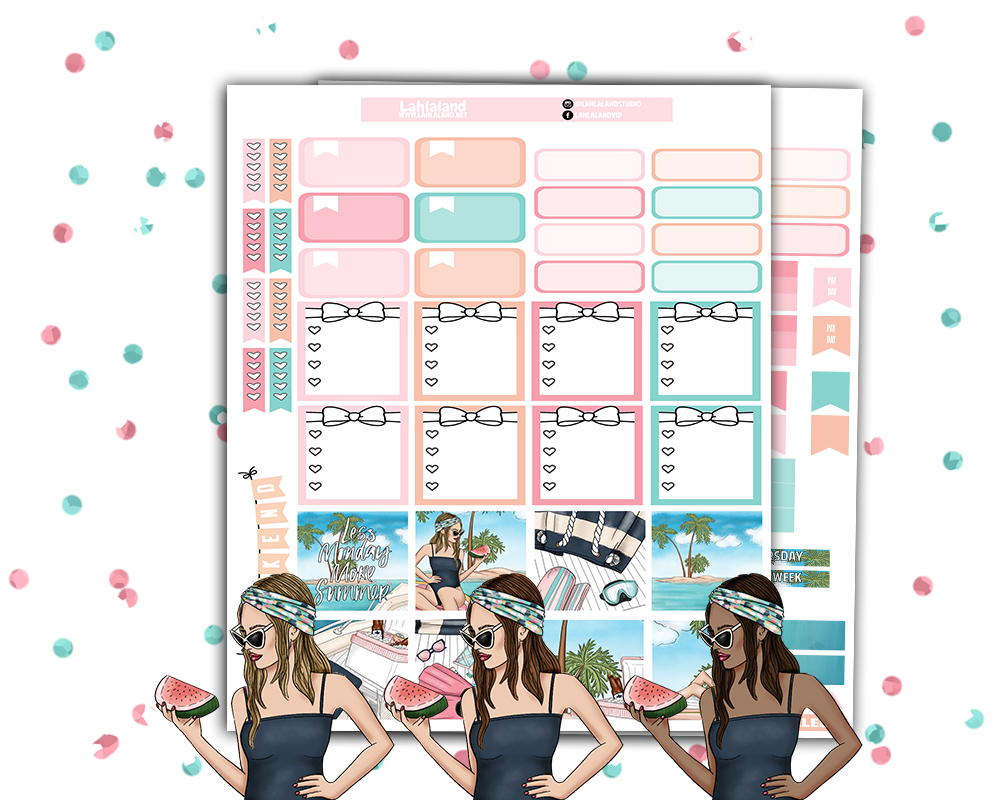 Mini Happy Planner - More Summer Weekly