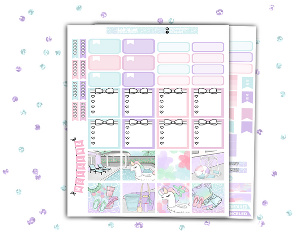 Mini Happy Planner - Splash Weekly Kit