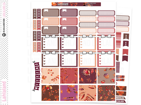 Mini Happy Planner - Autumn Delights Weekly Kit
