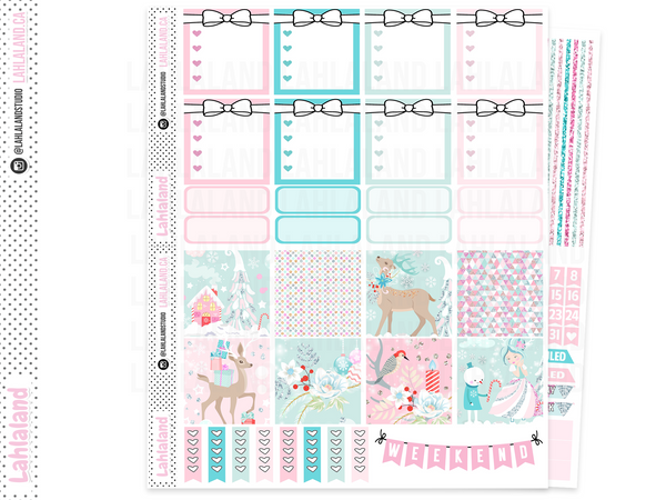 Mini Happy Planner - Whimsical Christmas Weekly Kit