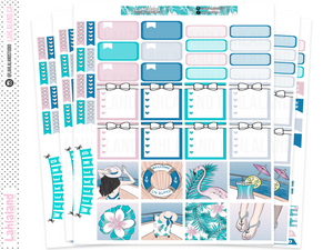 Mini Happy Planner - Summer Cruise Weekly