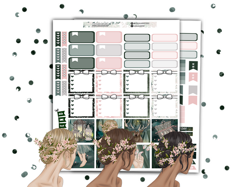 Mini Happy Planner - Forest Nymph Weekly Kit