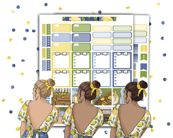 Mini Happy Planner - Lemonade Stand Weekly