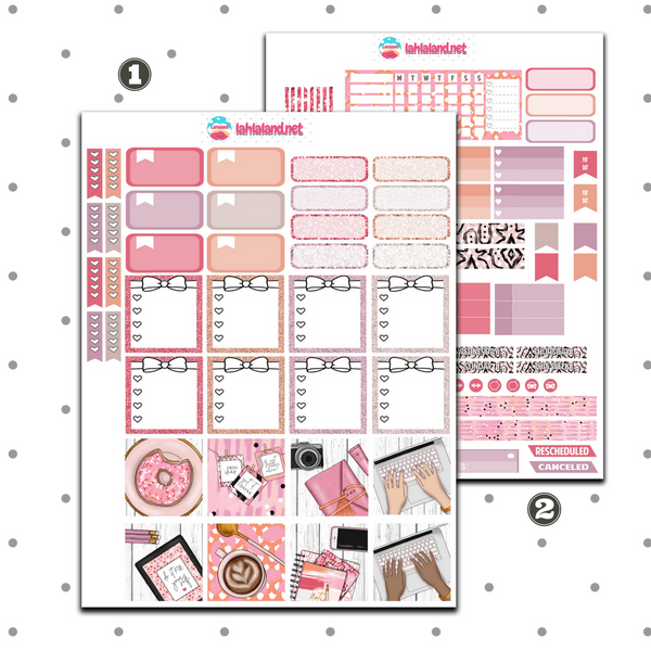 Mini Happy Planner - Planner Girl Weekly Kit