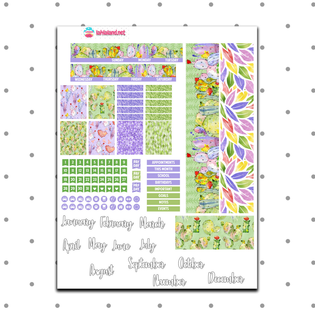 Mini Happy Planner - Prickle Party Monthly Kit