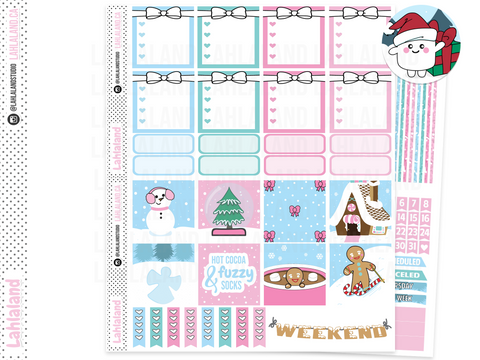 Mini Happy Planner - Winter Feels Weekly Kit
