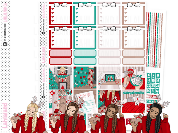 Mini Happy Planner - Christmas Eve Weekly Kit