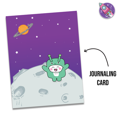 Tripp Alien Onesie Journaling Card